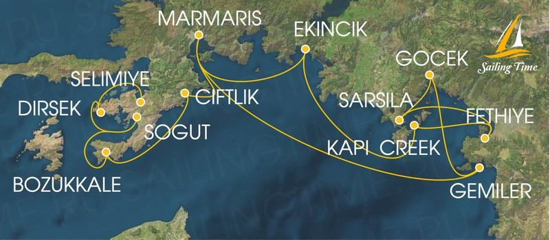 Яхта Греция