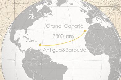 Трансатлантический переход на Карибы