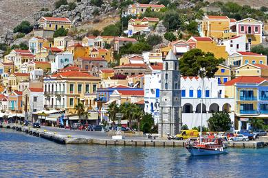 Путешествие по Греции на парусной яхте—одна неделя