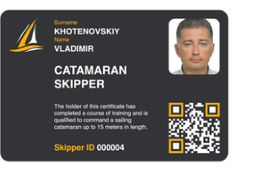Catamaran Skipper Course